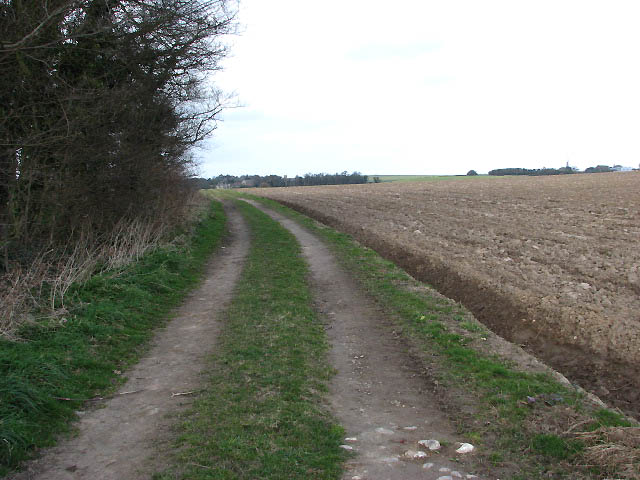 Track across fields