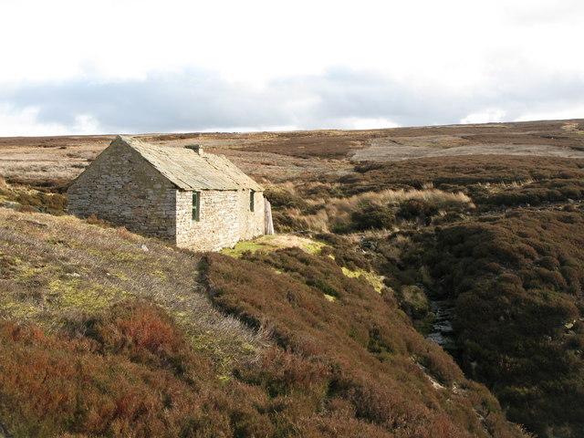Shooting cabin on Hunstanworth Moor (2)