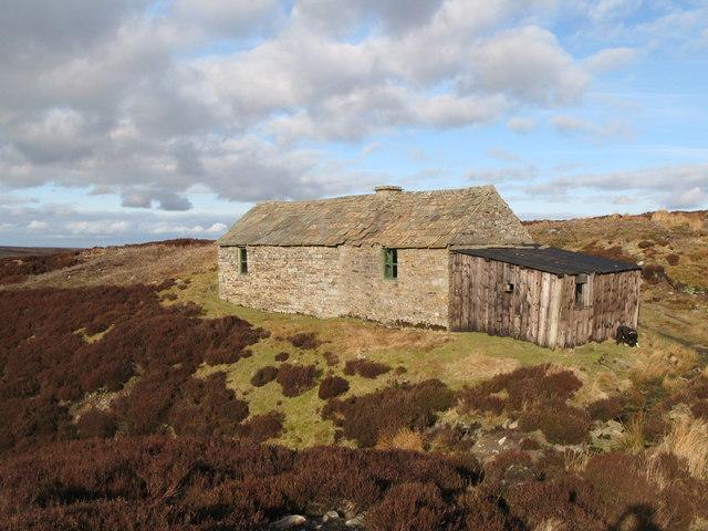 Shooting cabin on Hunstanworth Moor (3)