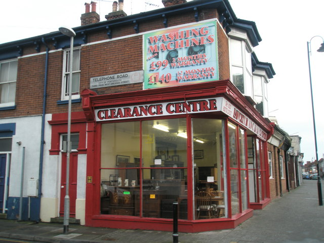 Clearance Centre, Fawcett Road