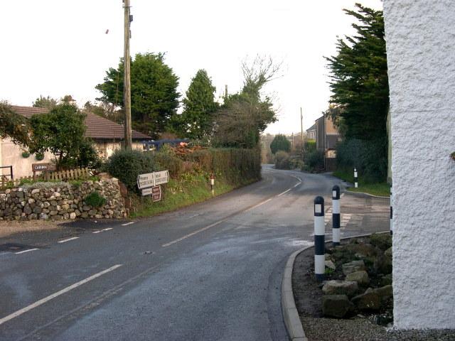 Roadside Houses on Relubbus Lane