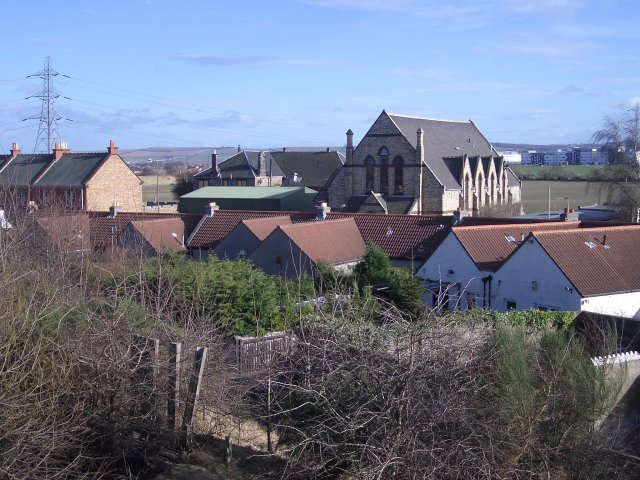 Newcraighall rooftops