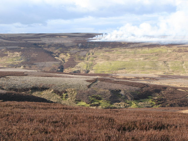 Grindstone Cleugh and the valley of Nookton Burn