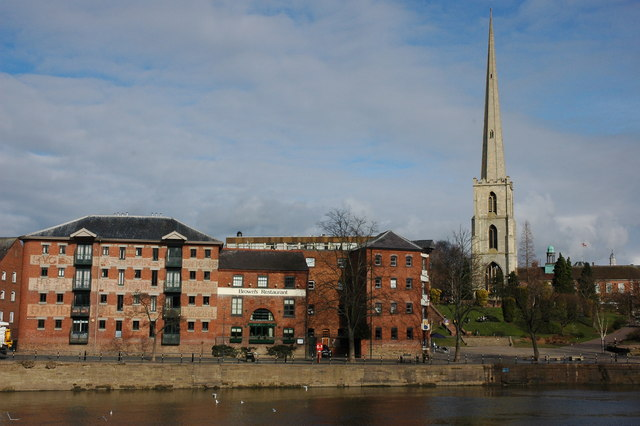 Converted warehouses in Worcester