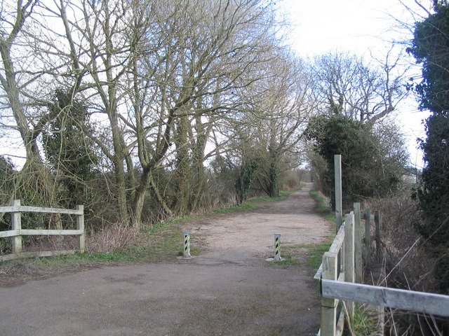 Beginning of Soar Lane