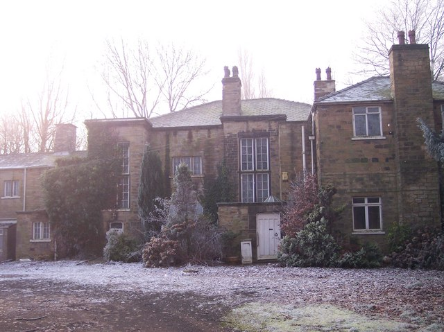 Back view of Lofthouse Hall.