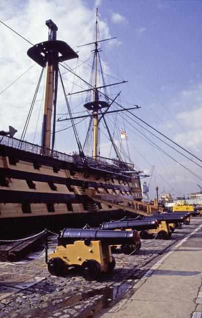 HMS Victory, Historic Dockyard, Portsmouth, Hampshire