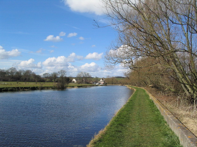 Towpath along the River Soar
