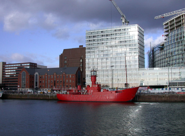 Channel Light Vessel 23 at Canning Dock