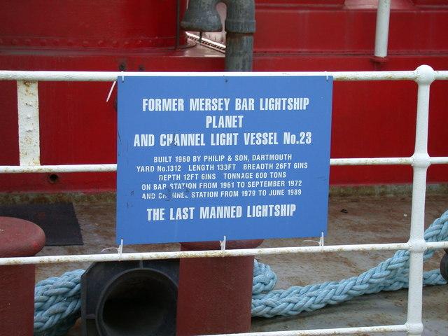 Information plaque on L.V.23