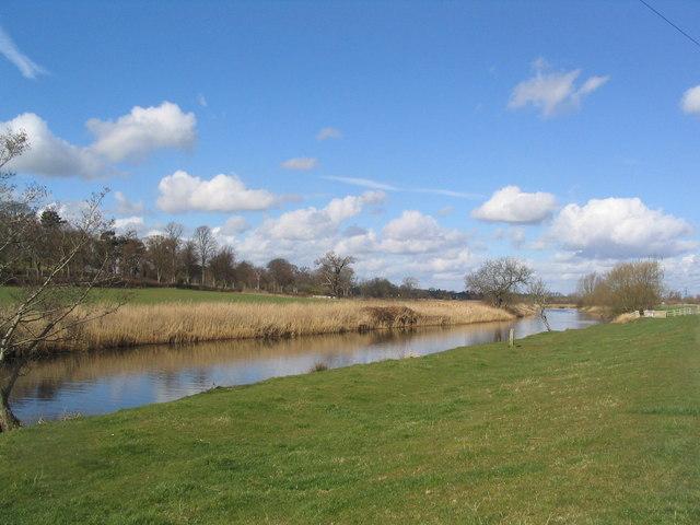 River Soar near Whatton House