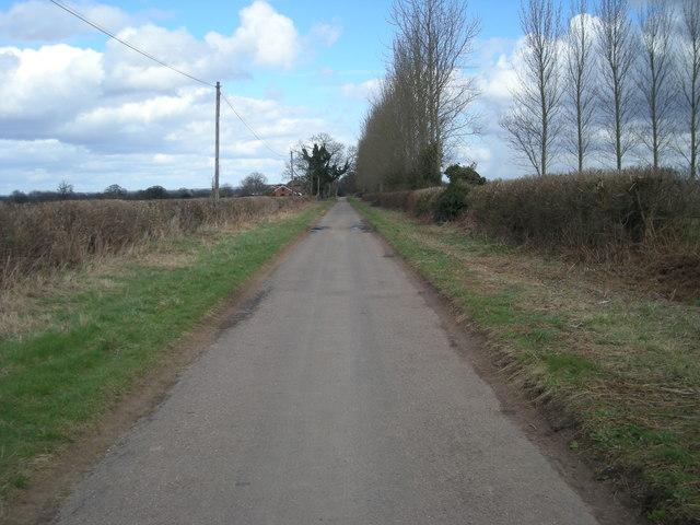 Lane to Burcote Villa