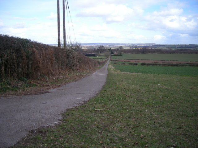 Track from Hermitage Hill Coppice