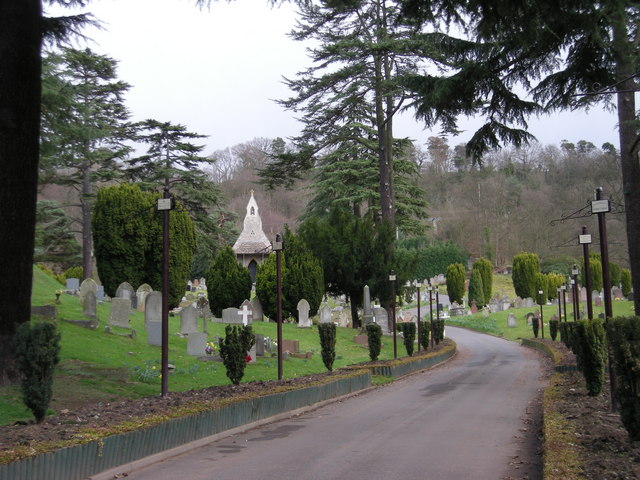 Another part of Bridgnorth Cemetery