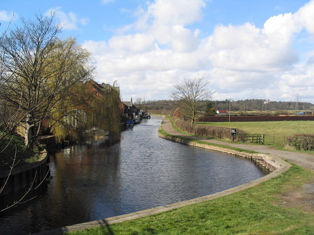 Grand Union Canal at Zouch