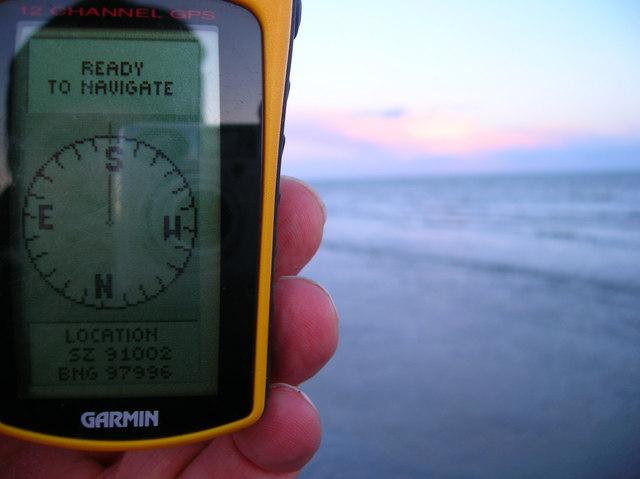 GPS Reading, Aldwick Beach