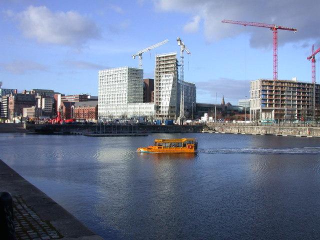 Yellow Duckmarine on Salthouse Dock