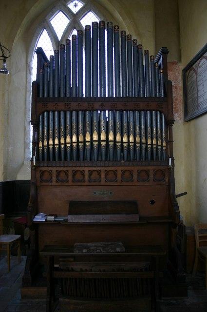 Organ, St. Martin's Church