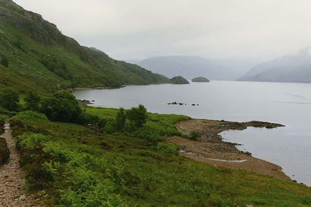 Camas na Togalach, Loch Morar
