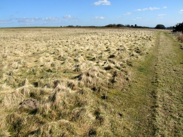 Hall Hill footpath, near West Keal