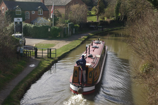 Oxford Canal, Newbold on Avon