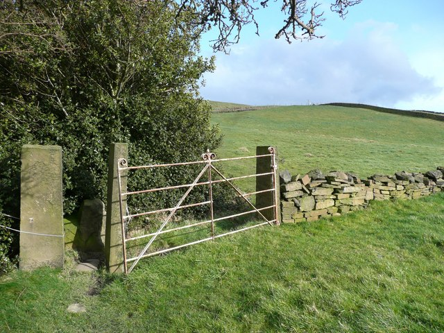 Stile and gate, Stainland