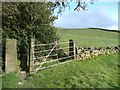 SE0719 : Stile and gate, Stainland by Humphrey Bolton