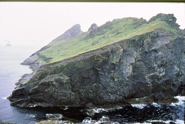 The Dun viewed from Hirta