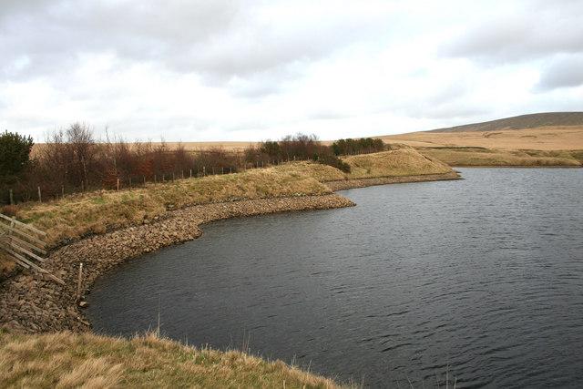 Upper Colwell Reservoir -  Back Lane