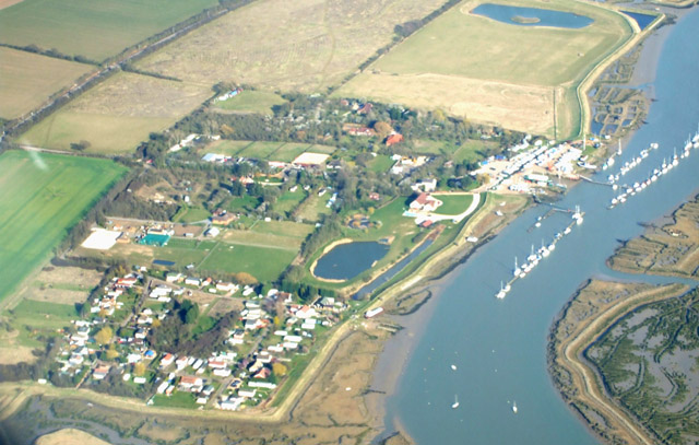 Althorne, aerial photo