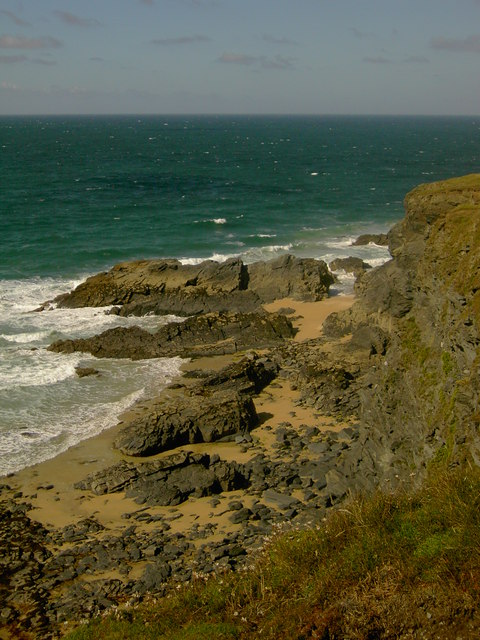 Beach near Trevone