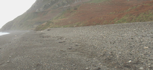 Berms between Porth y Nant and Porth Rivals