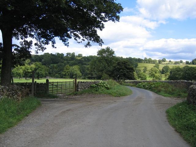 The Green Gate junction with Back Lane