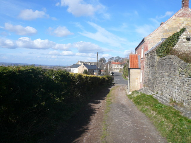 Palterton - Footpath View of Main Street