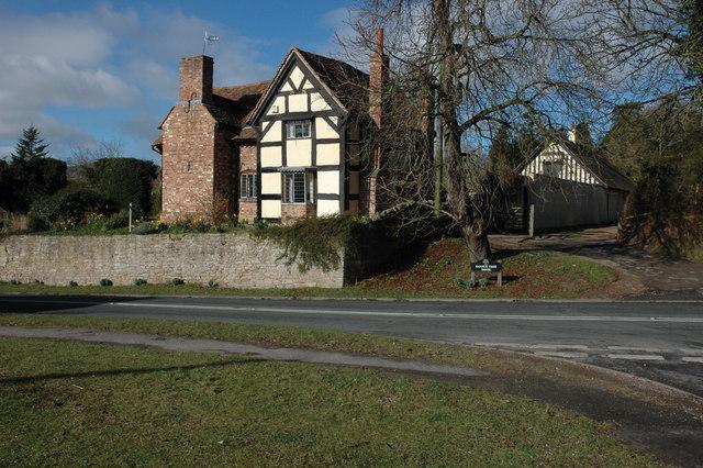Restored house at Castlemorton