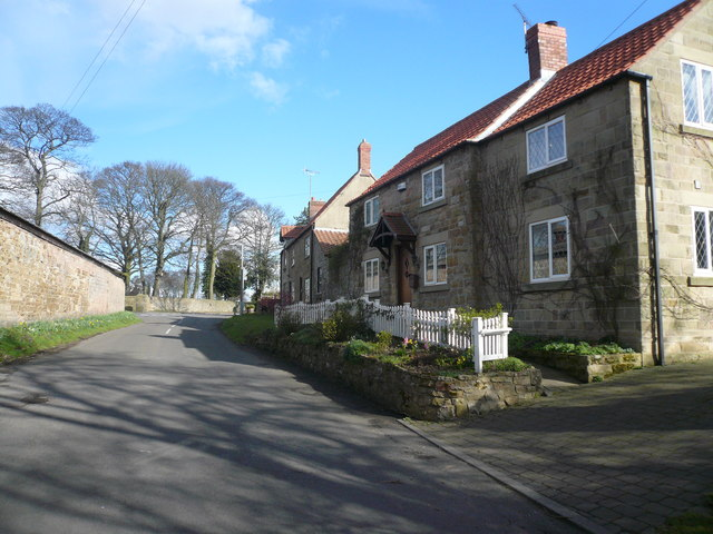 Glapwell - Back Lane View