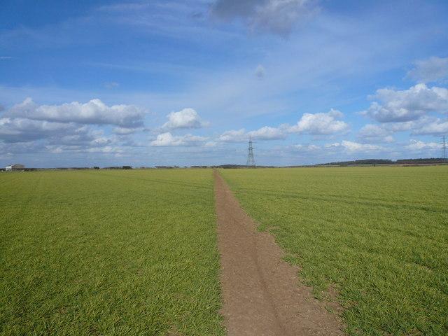 Footpath View near Glapwell