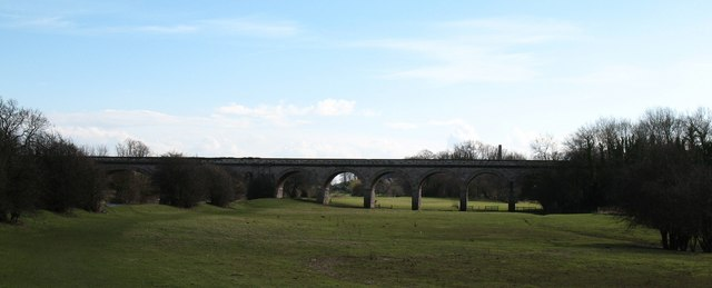 Old railway viaduct at Tadcaster