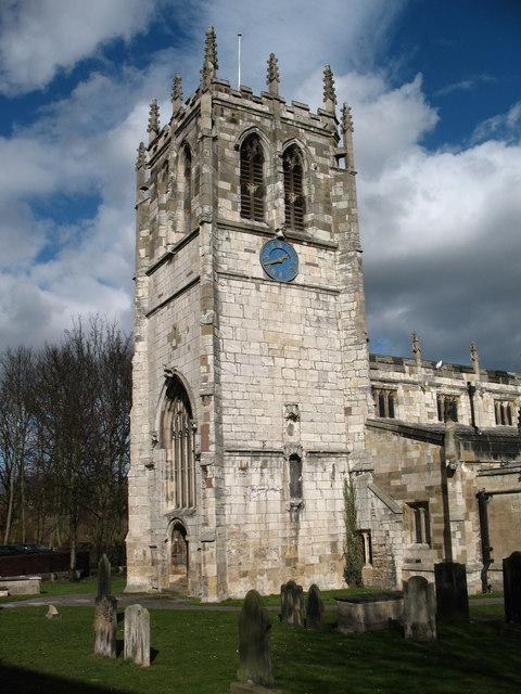 St Mary's church tower