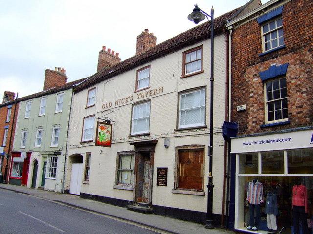 ex? Old Nicks Tavern, Horncastle