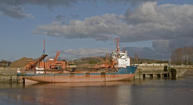 Dunball Sand Wharf