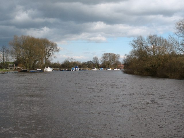 The Ouse at Acaster Malbis
