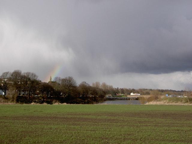 Rainbow over Ribble