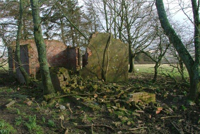 Ruin, Near Queen's Letch