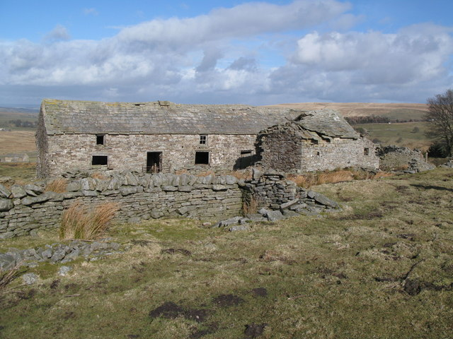 Ruined house above Allenheads (2)