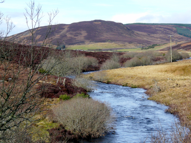 River Evelix near Rearquhar