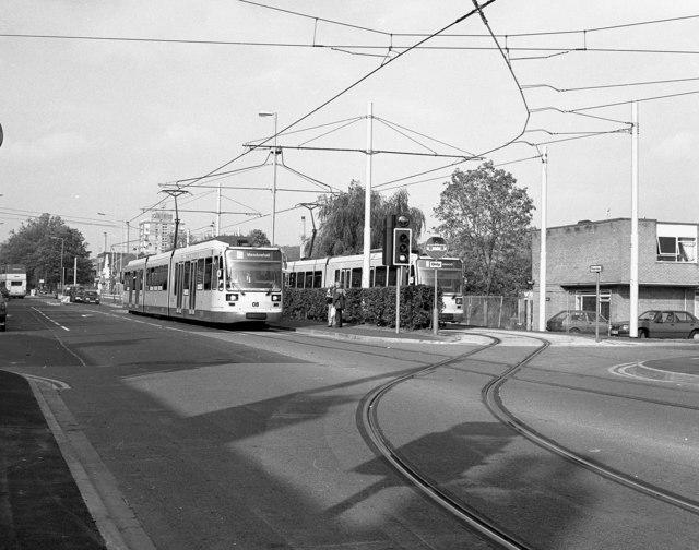 Middlewood tram terminus