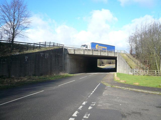 M1 Bridge near Hardwick Park