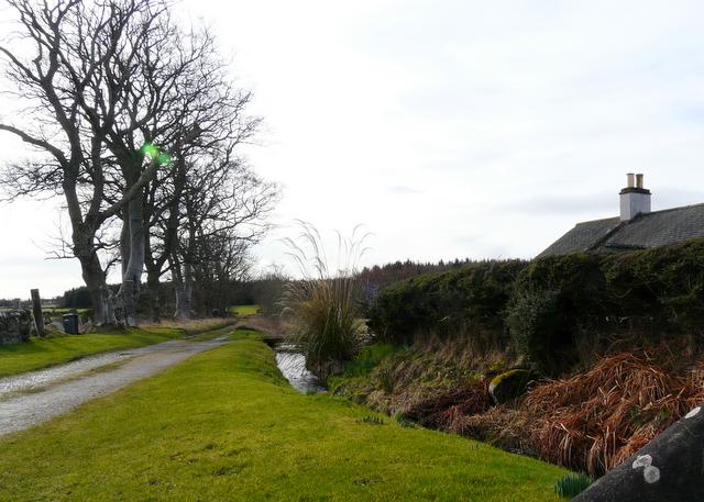 Track at Glenmorangie Cottages