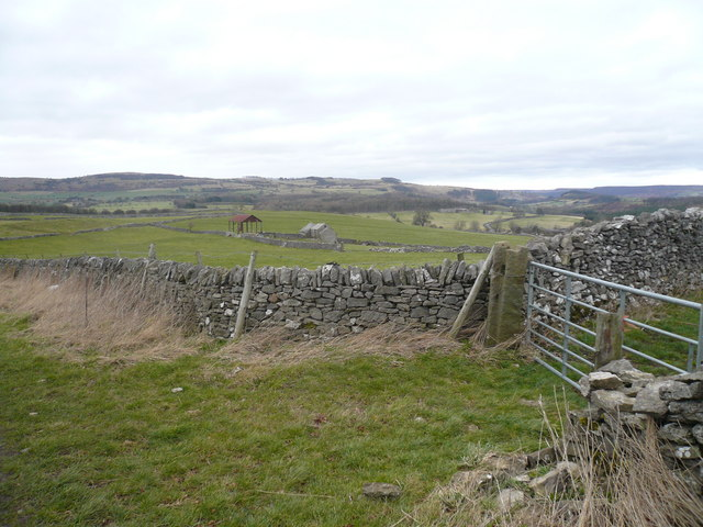 Footpath View near Monsal Trail